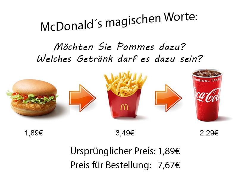 McDonalds Profit Maximizer eines Sales Funnels