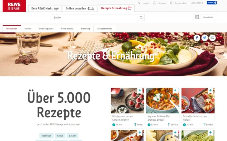 Rewe Content Marketing