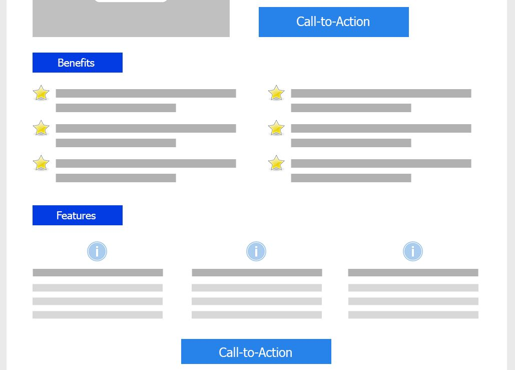 Call-to-Action Landing Page