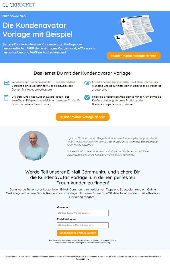Unterschied Landing Page - Startseite Bild 2