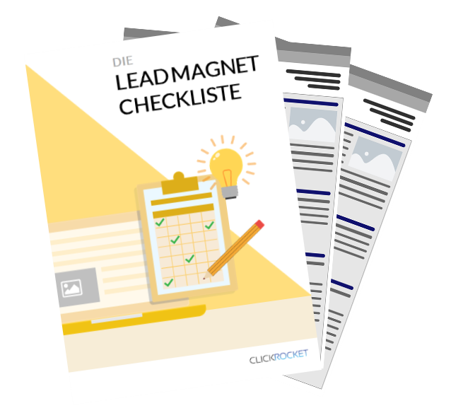 Lead Magnet für Checkliste