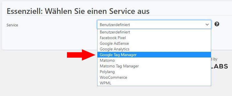 Google Tag Manager einrichten Schritt 2