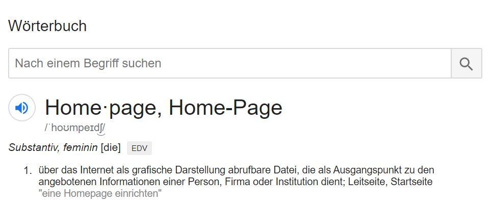 Wikipedia Was ist eine Startseite