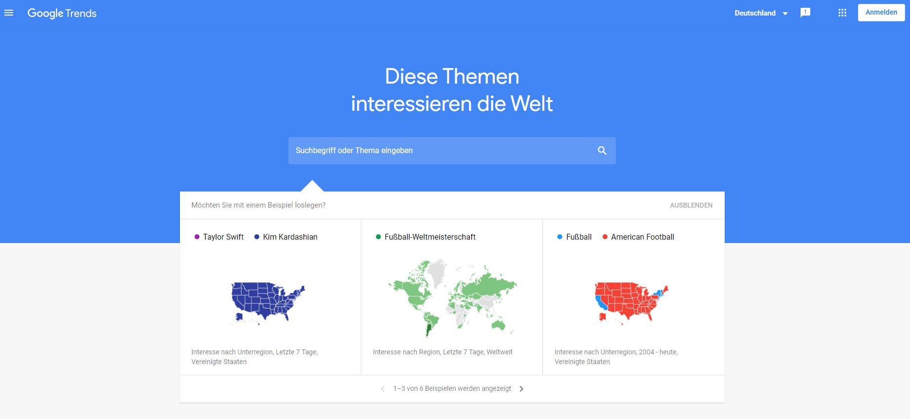 Content Marketing Tool 2 Google Trends