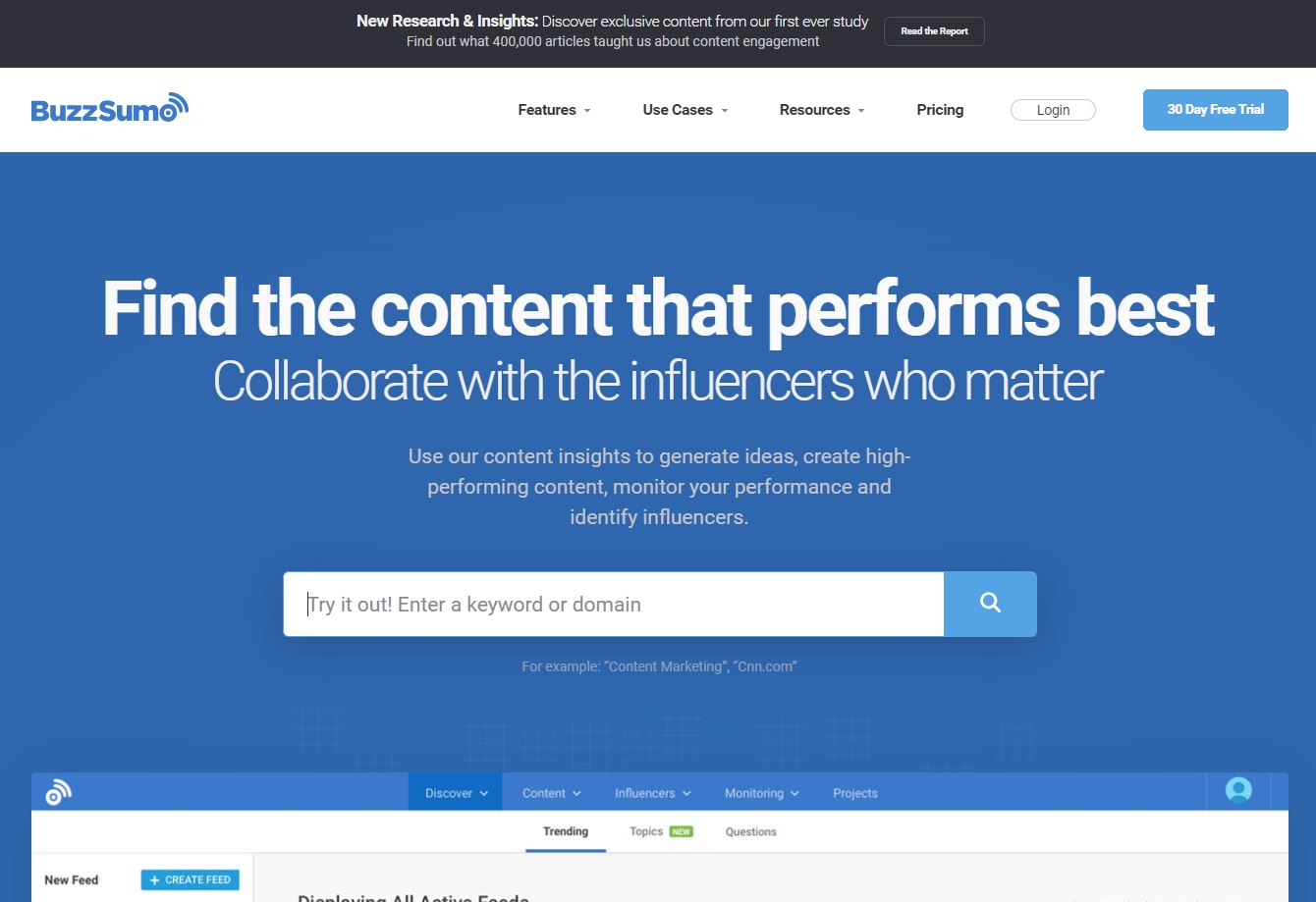 Content Marketing Tool 7 Buzzsumo