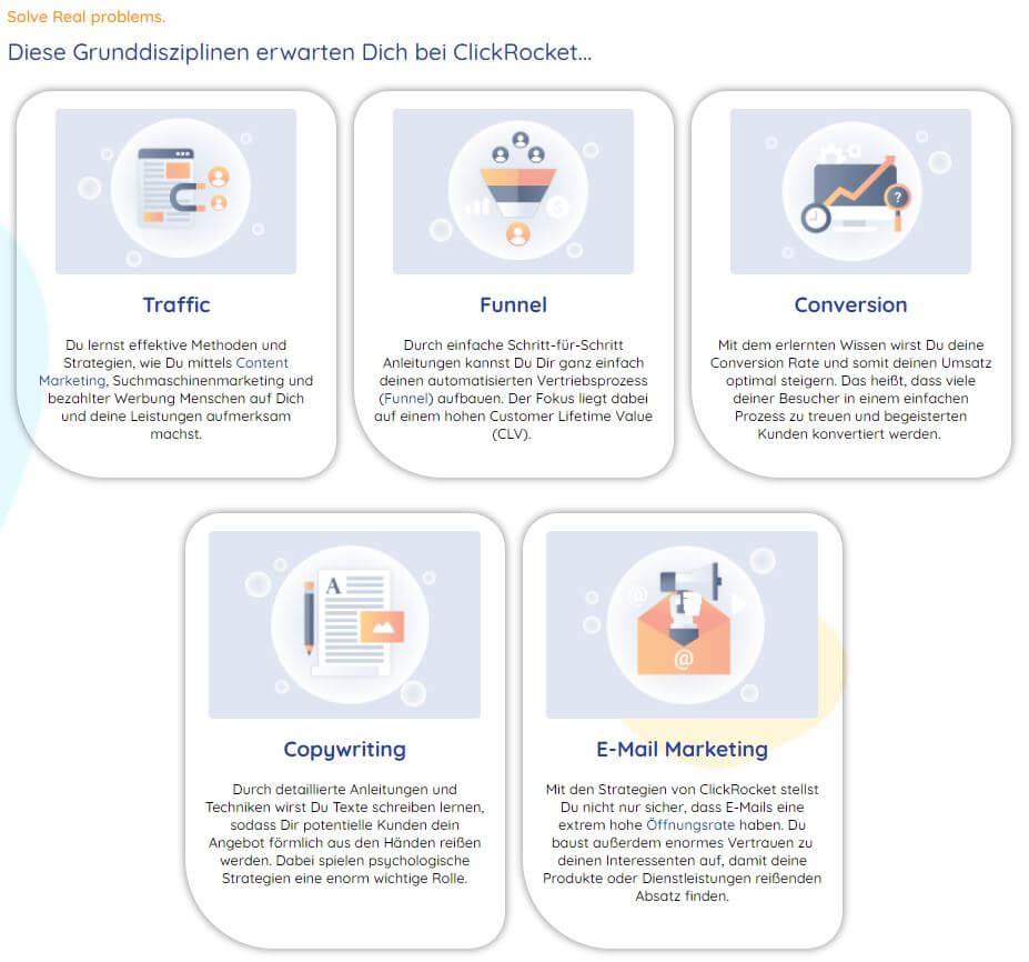 Deutscher Marketing Blog ClickRocket